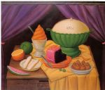 still life 1990 by fernando botero painting
