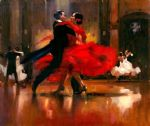 dance series ii by flamenco dancer watercolor paintings