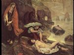 ford madox brown watercolor paintings - don juan discovered by haydee by ford madox brown