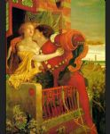 ford madox brown watercolor paintings - romeo and juliet by ford madox brown