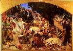ford madox brown watercolor paintings - work by ford madox brown