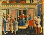 saint cosmas and saint damian before lisius by fra angelico oil paintings
