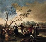 francisco de goya dance of the majos at the banks of manzanares painting