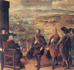 francisco de zurbaran art - defence of cadiz against the english by francisco de zurbaran