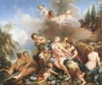 the rape of europa by francois boucher painting