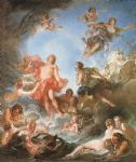 the rising of the sun by francois boucher painting