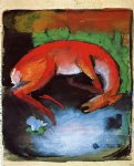 franz marc dead deer painting