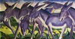 franz marc donkey frieze print