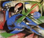 franz marc dreaming horses paintings 34108