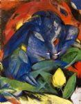 franz marc famous paintings - eber und sau by franz marc