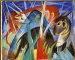 franz marc fairy animals painting