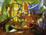 franz marc gazelles painting