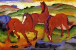 franz marc grazing horses iv paintings 34039