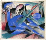 franz marc horse asleep paintings 34106