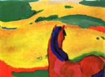 franz marc horse in a landscape paintings 79546