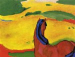 franz marc horse in a landscape paintings 34042