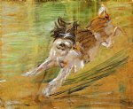franz marc jumping dog schlick art