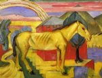 franz marc long yellow horse paintings 34049