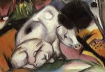 franz marc pigs painting