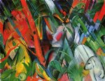 rain by franz marc painting