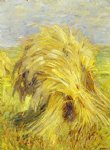 franz marc sheaf of grain painting