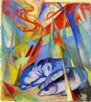 franz marc sleeping animals painting