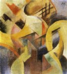 small composition i by franz marc art