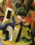 small composition ii by franz marc art