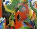 small composition iii by franz marc art
