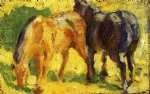 franz marc small horse picture paintings 34070