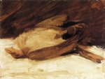 franz marc the dead sparrow painting