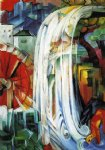 franz marc the enchanted mill painting