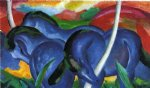 franz marc the large blue horses paintings 34076
