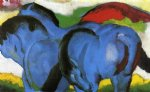 franz marc the little blue horses painting 34078