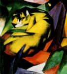 franz marc tiger oil paintings