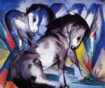 franz marc two horses painting