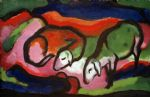 franz marc zwei schafe oil paintings