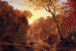 frederic edwin church autumn in north america paintings
