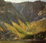 great basin mount katahdin maine by frederic edwin church painting