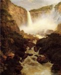 frederic edwin church tequendama falls near bogota new granada painting