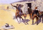 frederic remington the apaches painting