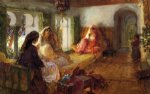 frederick arthur bridgeman the harem prints
