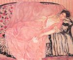 portrait of madame gely by frederick carl frieseke painting