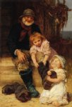 helping grandpa by frederick morgan prints