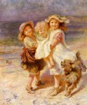 on the beach by frederick morgan prints