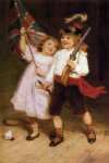 the toy parade by frederick morgan prints