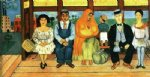 frida kahlo famous paintings - el autobus by frida kahlo