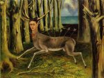 the little deer by frida kahlo acrylic paintings