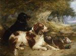 gundogs with game by george armfield prints