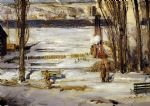 george bellows artwork - a morning snow by george bellows